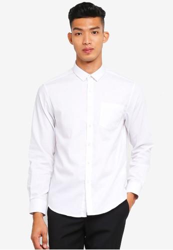 threads by the produce white Fine Twill Shirt 57DE8AA9568E09GS_1