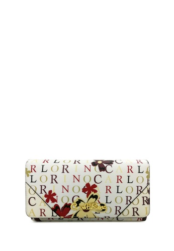 Carlo Rino white Carlo Rino 0303678-501-00 2-Fold Long Wallet CA220AC08KYLMY_1