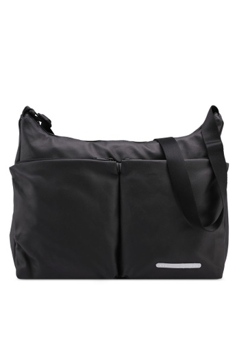Rawrow black Rugged Canvas 171 R Cross Bag 5899CAC7089DDCGS_1