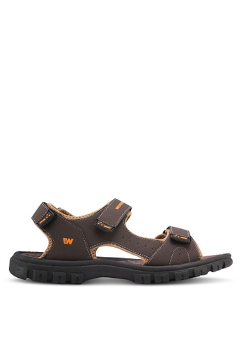 Weinbrenner brown Bahama Sandals 80F3FSHEE91226GS_1