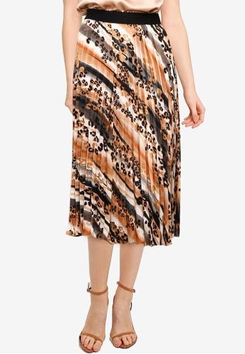 Little Mistress multi Animal Pleat Skirt DEB95AA9F039D6GS_1