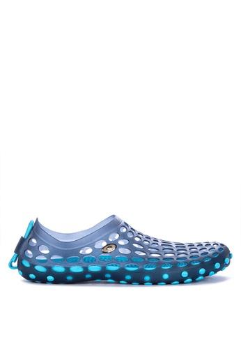 Krooberg blue Drain Mens Slip-Ons 00DAASH42FE801GS_1