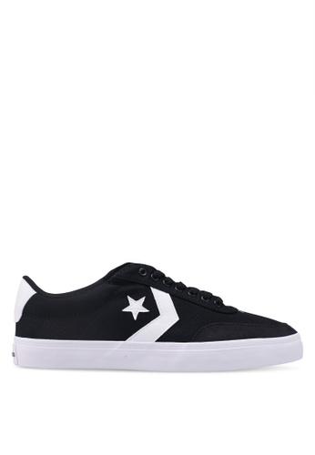 2a85b1e96 Converse black Converse Courtlandt Canvas Ox Sneakers BAB3BSH054D507GS 1