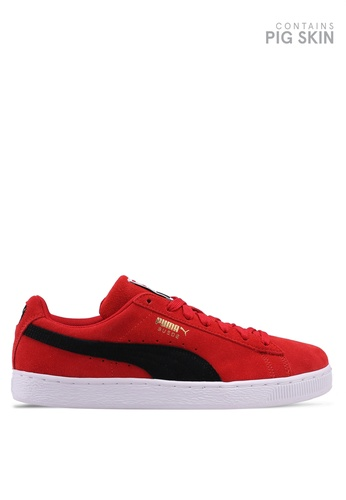 Puma red Sportstyle Prime Suede Classic Shoes D68BESH690605BGS_1