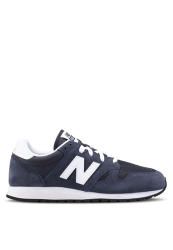 New Balance navy 520 Lifestyle Sneakers 06DD6SHD36E1BBGS_1