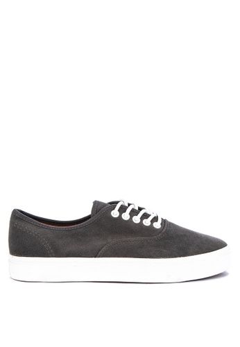 H2Ocean grey Calimero Two Tone Sneakers Lace up A4E1ESH8B3C078GS_1