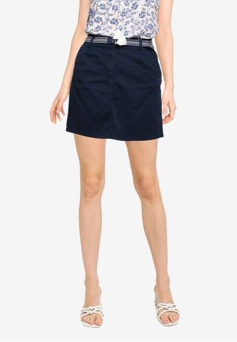Springfield blue Chino Skirt 2A80CAA2538037GS_1