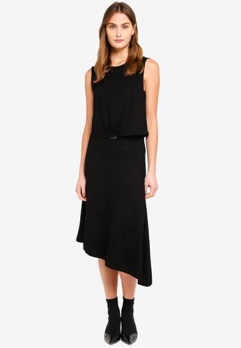 ESPRIT black Decorative Ring Jersey Dress 310C4AA5E09839GS_1