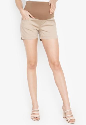 c6f6c4fcf42 Shop BUNTIS Selena Maternity Shorts Online on ZALORA Philippines