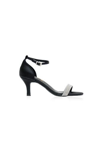 Kiss & Tell 黑色 黑色露西娅高跟鞋 587DDSH89F750DGS_1