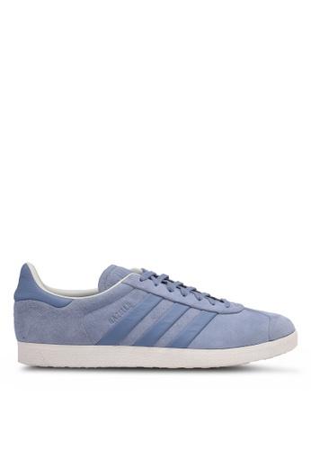 adidas grey adidas originals gazelle s&t 4F0EASH8227DD9GS_1