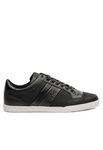 格紋皮革杜邦esprit taiwan網布都會休閒鞋, 鞋, 休閒鞋
