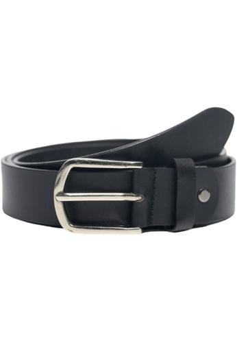 Oxhide black Casual Leather Belt Men - Full Grain Leather Belt Black BLC22 Oxhide 42B7EACDD92777GS_1