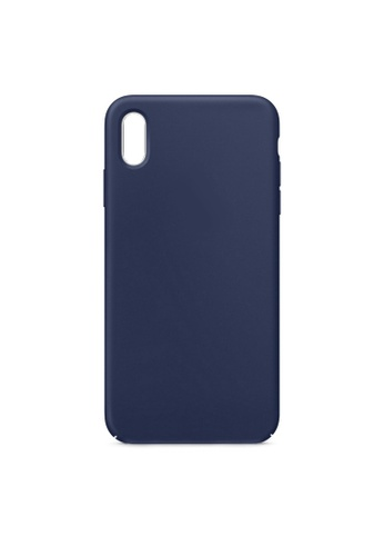 MobileHub navy iPhone XR Soft Silicone Case Rubberized Finish EB14DAC1A6CDD2GS_1