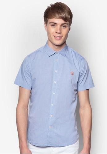 純棉短袖襯衫, 服飾, 素色京站 esprit襯衫