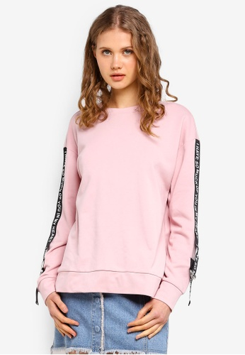 ESPRIT pink Long Sleeve Sweatshirt 1736BAA022F1F6GS_1