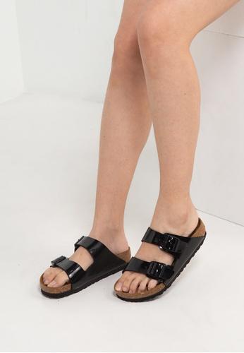 Birkenstock 黑色 Arizona Patent Sandals A767BSH6246533GS_1