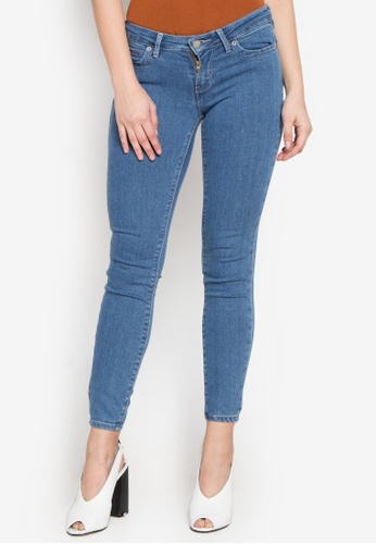 Stylistic Mr. Lee blue Ladies Extreme Skinny Pants (Low Rise) With Enzyme Bleach MR206AA0KEV5PH_1