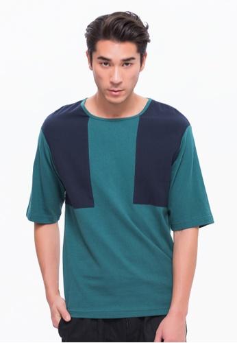 Alpha Style green Jamari T-Shirt AL461AA0FVD0SG_1