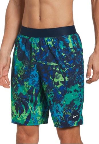 """Nike blue Nike Swim Men's Seascape Lap 9"""" Volley - Boxer Liner F5D41USCA836A0GS_1"""