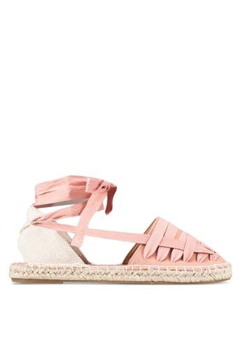 Bata pink Lace Up Ballerinas BA156SH0RY72MY_1