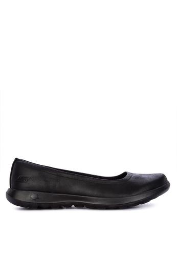 skechers go walk lite slip on shoes gem