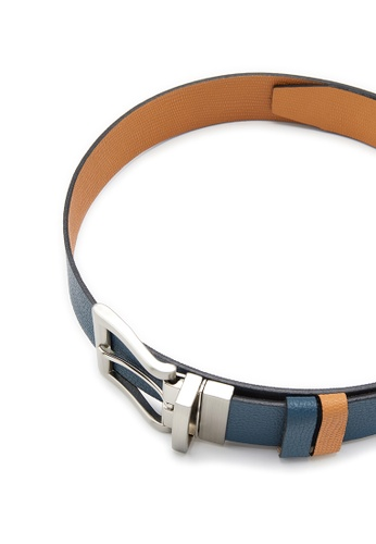 Life8 blue and brown Casual Double-Sided Belt-05266-Blue and Brown LI286AC0RP90MY_1