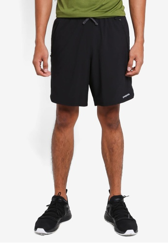 Patagonia black Nine Trails Shorts PA549AA0SVPHMY_1