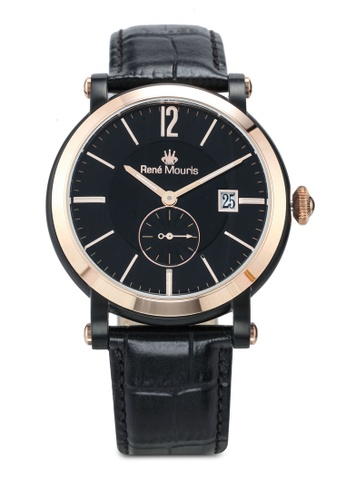 René Mouris black Ambassador - 44mm Classic Quartz Watch FE4B5AC40F5498GS_1