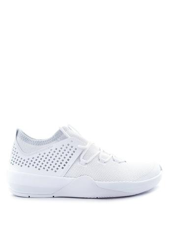 Nike grey and white Men's Jordan Express Shoes NI126SH98LOFPH_1
