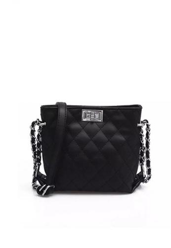 Lucky JX black Snow Shoulder Bag 6699AAC018C3E6GS_1
