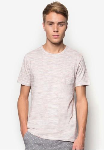 暗紋口袋T 恤, 服esprit outlet 桃園飾, T恤