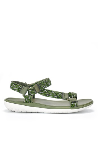 Twenty Eight Shoes green EVA Waterproof  Sandals JD16 26ED2SH9C67D2EGS_1