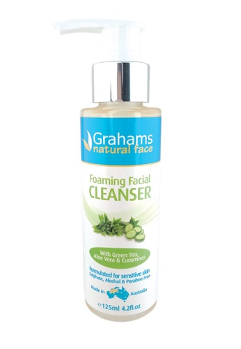 Grahams Natural Alternatives Natural Foaming Facial Cleanser 125ml 745A2BEFB20AE4GS_1