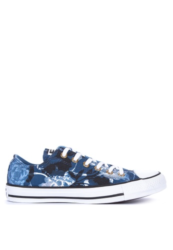e3d2bb6967da Shop Converse Chuck Taylor Linear Floral Sneakers Online on ZALORA  Philippines
