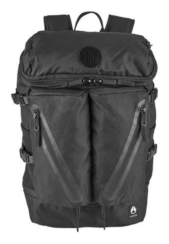 Nixon black Nixon-Scripps Backpack II-All Black - Black(C2821001) 10455AC9B0D64AGS_1