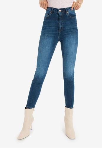 Trendyol blue High Waist Skinny Jeans 26A89AA21B2A34GS_1