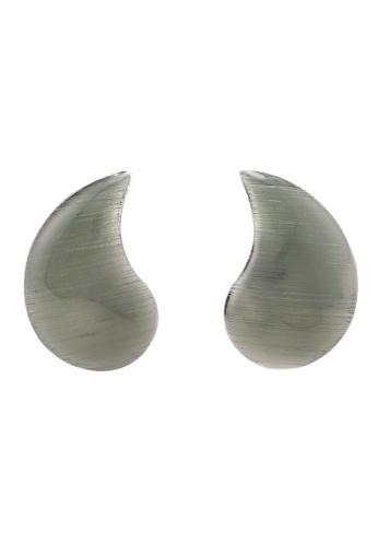 niko and ... grey Melange Earrings ED39BAC3012A21GS_1