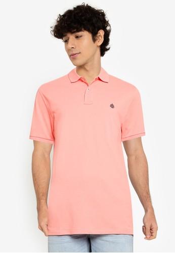 Springfield pink Essential Slim Polo Shirt 0D7D8AA68C3F0DGS_1