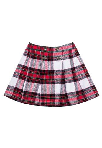 Joe Fresh red A-Line Skirt F10EDKA991E48EGS_1