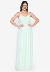 Tantease green Marta Maxi Dress 86FC1AA69AA071GS_1