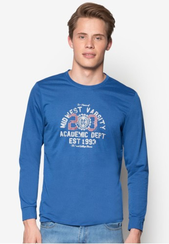 中esprit 鞋西球隊長袖衫, 服飾, 運動T恤