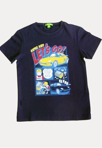 Bossini navy Bossini Kids Boy T-Shirt Dk Marine (73080912050) 32B2EKAF147916GS_1