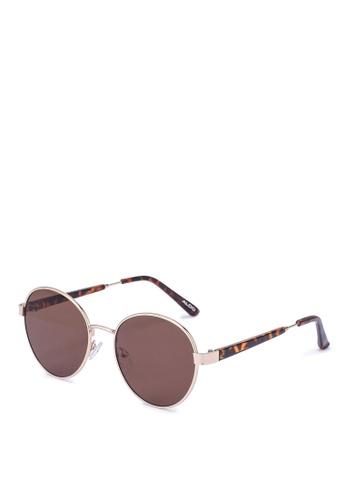 ALDO gold Parade Sunglasses 5C37BGL01B5439GS_1