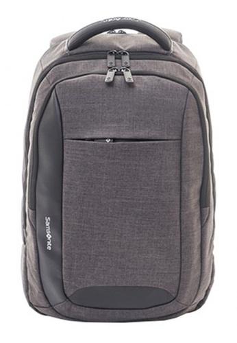 Samsonite grey Samsonite Ikonn Laptop Backpack II SA186AC89ANMSG_1