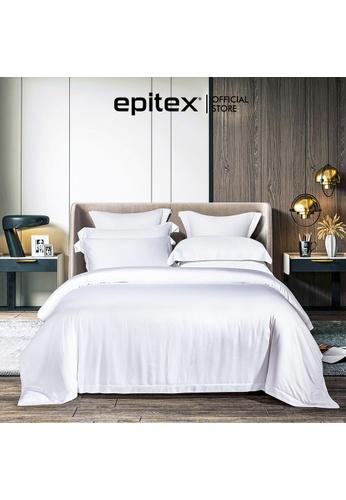 Epitex Epitex MD3024-01 1200TC Modal Dobby Fitted Sheet Set. 3035AHL0683A09GS_1