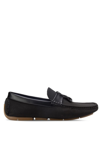 UniqTee black Tassel Loafers UN097SH35REYMY_1