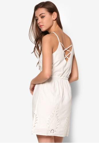 背部交叉帶無袖洋裝, 服飾,尖沙咀 esprit 洋裝