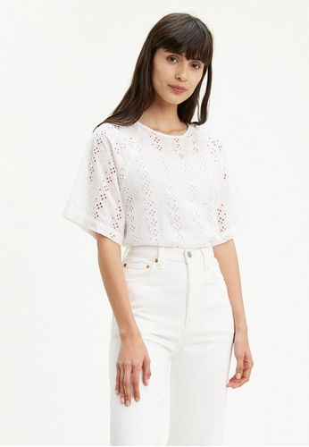 Levi's white Levi's® Mia Tee Shirt 86141-0000 F1BE3AA7E72BE6GS_1