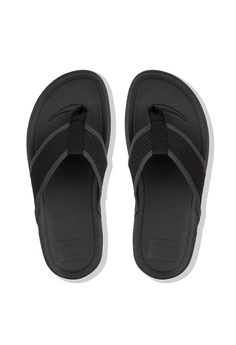 fc5af8a2e42c27 FitFlop Fitflop Surfer Toe-Post Black  Charcoal RM 269.00. Sizes 8 9 10 11  12